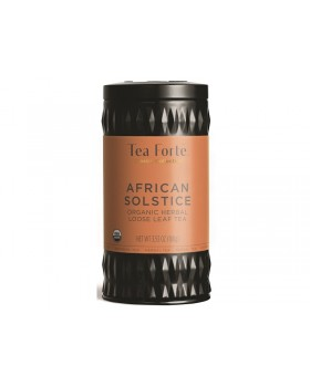 Tea Fortè - LATTA AFRICAN SOLSTICE Tè rosso vaniglia roiboos