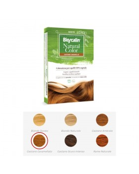 BIOSCALIN NATURAL COLOR CASTANO CARAMELLO 70 G