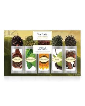 Tea Forté Scatola WORLD TEAS da 15 modosi