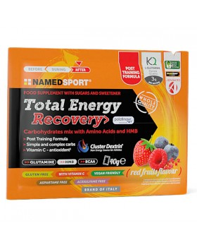 NAMEDSPORT - TOTAL ENERGY RECOVERY RED FRUITS 40 G