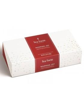 Tea Forté - WARMING JOY TÈ E TISANE DELLE FESTE 2019 - Scatola da 10 piramidi