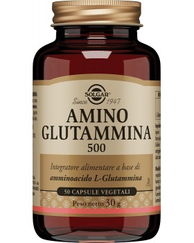AMINO GLUTAMMINA 500 50 CAPSULE VEGETALI