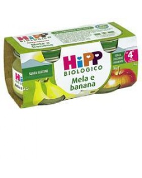 HIPP BIO OMOGENEIZZATO MELA BANANA 100% 2X80 G