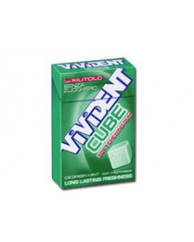 VIVIDENT XYLIT CUBE ICE GREEN