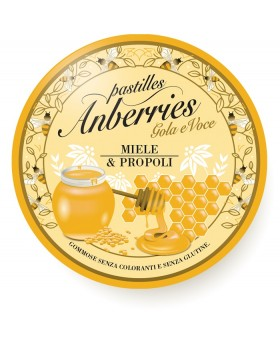 ANBERRIES MIELE PROPOLI 55 G