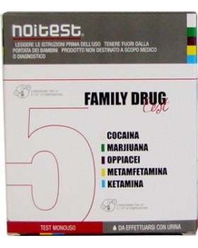 TEST DROGHE FAMILY DRUG TEST 1 PEZZO