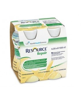RESOURCE REPAIR VANIGLIA 4 BOTTIGLIE 200 ML