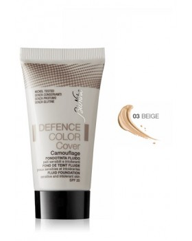 DEFENCE COLOR COVER FONDOTINTA FLUIDO 03 BEIGE 30 ML