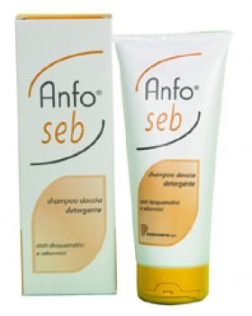 ANFO SEB SHAMPOO DOCCIA DETERGENTE 200 ML