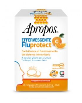 APROPOS FLUPROTECT EFFERVESCENTE C 20 COMPRESSE