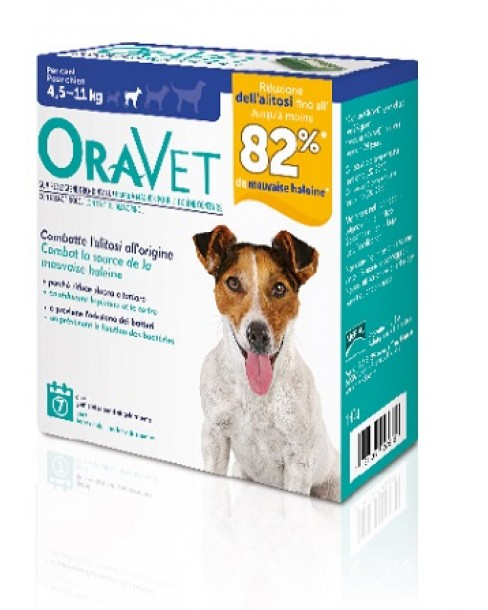 ORAVET CHEWING GUM DOG SMALL 7 PEZZI