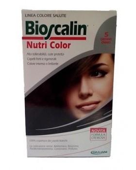 BIOSCALIN NUTRI COLOR 5 CASTANO CHIARO SINCROB 124 ML