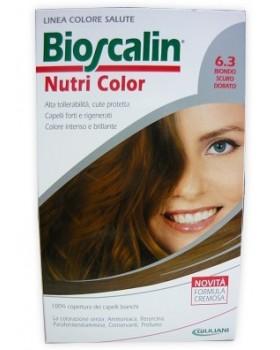 BIOSCALIN NUTRI COLOR 6,3 BIONDO SCURO DORATO SINCROB 124 ML