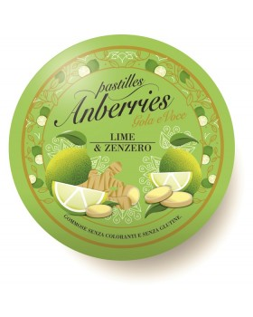 ANBERRIES LIME & ZENZERO 55 G