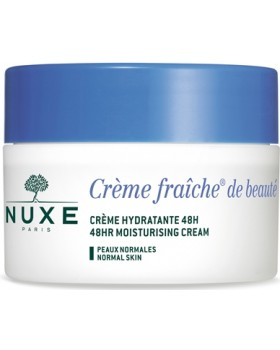NUXE CREME FRAICHE DE BEAUTE CREME FONDANTE HYDRATANTE 48 H 50 ML