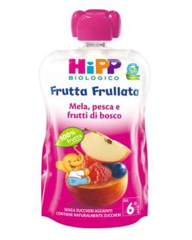 HIPP BIO HIPP BIO FRUTTA FRULLATA MELA PESCA FRUTTI DI BOSCO 90 G