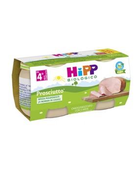 HIPP BIO HIPP BIO OMOGENEIZZATO PROSCIUTTO 2X80 G