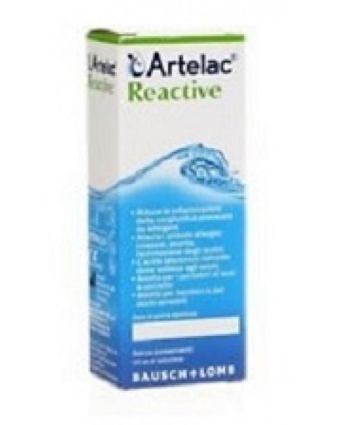 ARTELAC REACTIVE SOLUZIONE OFTALMICA MULTIDOSE FLACONE 10 ML