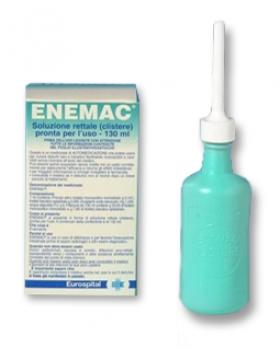 ENEMAC*1 flacone 130 ml 16,1 g/100 ml + 6 g/100 ml soluz ret t
