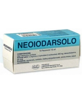 NEOIODARSOLO*os soluz 10 flaconcini 15 ml