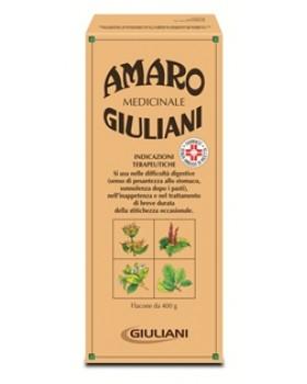 AMARO MEDICINALE GIULIANI*os soluz 1 flacone 400 g