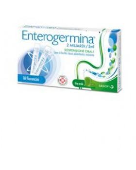 ENTEROGERMINA*os sosp 10 flaconcini 2 mld 5 ml