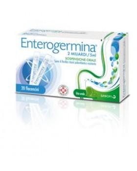 ENTEROGERMINA*os sosp 20 flaconcini 2 mld 5 ml