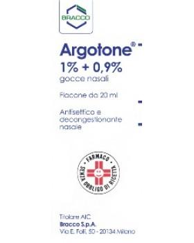 ARGOTONE*gtt rinol 20 ml