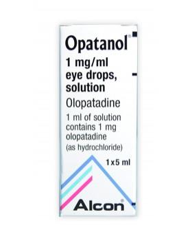 OPATANOL*collirio 5 ml 1 mg/ ml