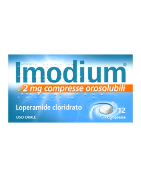 IMODIUM*12 cpr orosolub 2 mg