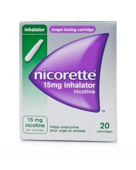 NICORETTE*soluz inal 20 flaconcini monod 15 mg
