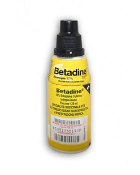 BETADINE*soluz cutanea 125 ml 10%