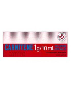 CARNITENE*os soluz 10 flaconcini 1 g