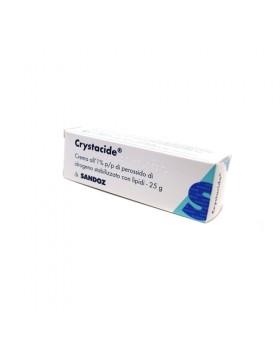 CRYSTACIDE*crema derm 25 g 1%