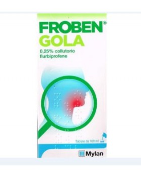FROBEN GOLA*collutorio 160 ml 0,25%