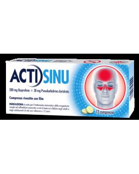 ACTISINU*12 cpr riv 200 mg + 30 mg