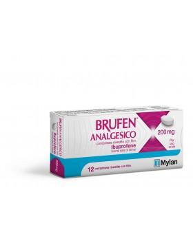 BRUFEN ANALGESICO*12 cpr riv 200 mg