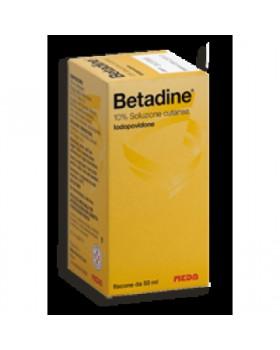 BETADINE*soluz cutanea 50 ml 10%