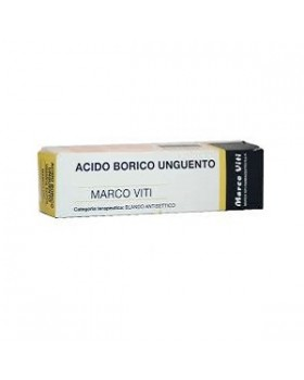ACIDO BORICO (MARCO VITI)*ung derm 50 g 3%