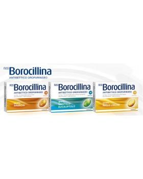 NEOBOROCILLINA ANTISETTICO OROFARINGEO*16 pastiglie 6,4 mg + 52 mg arancia