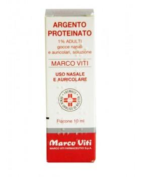 ARGENTO PROTEINATO (MARCO VITI)*AD gtt orl 10 ml 1%