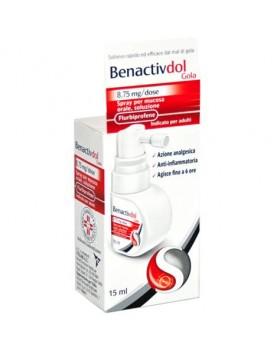 BENACTIVDOL GOLA*spray mucosa os 15 ml 8,75 mg/dose