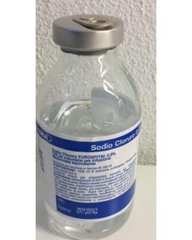 SODIO CLORURO (EUROSPITAL)*1 flacone 100 ml 0,9%